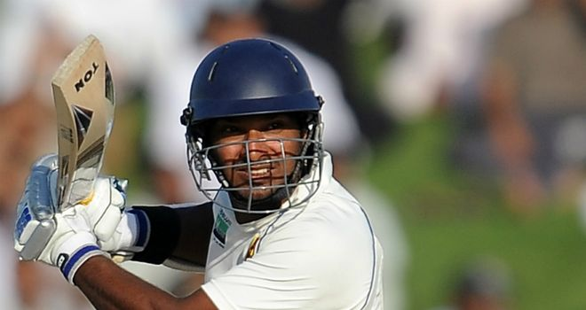 Kumar Sangakkara: finished day four unbeaten on 161