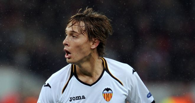 Sergio Canales: Excited after being given permanent deal at Valencia