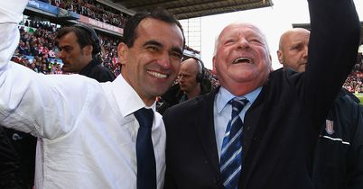 Dave Whelan: Hopeful Roberto Martinez will remain at Wigan