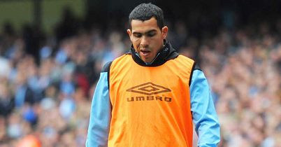 Carlos Tevez: Man City striker turned out for the reserves as he bids to regain fitness