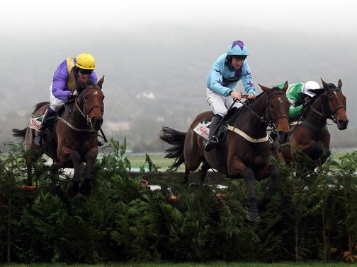 Uncle Junior (left) is one of a strong Willie Mullins team