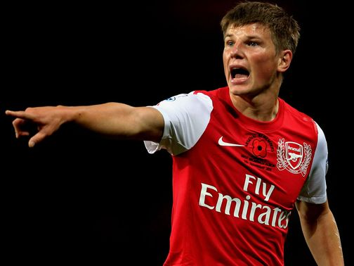 Andrey Arshavin: Support from Arsene Wenger