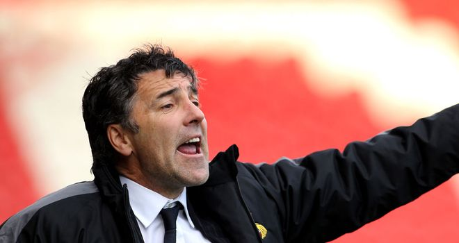 Dean Saunders: Brought in a host of international stars to Doncaster Rovers - but not Robert Pires