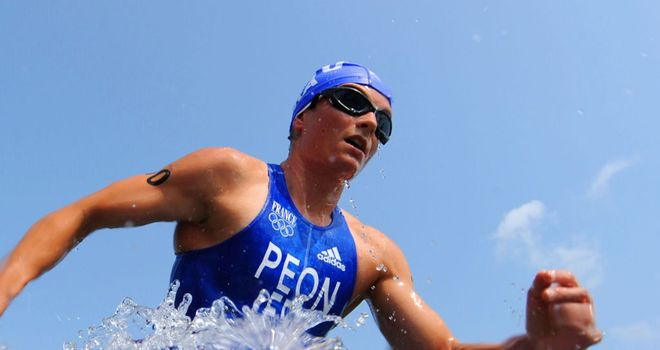 Carole Peon: Part of double gold joy for France