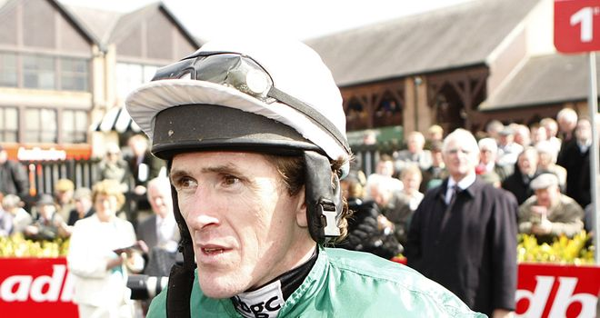 McCoy: Opted to partner Sunnyhillboy ahead of ante-post favourite