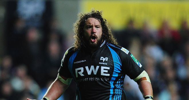 Adam Jones: Ospreys prop expected to miss around 10 weeks with knee injury