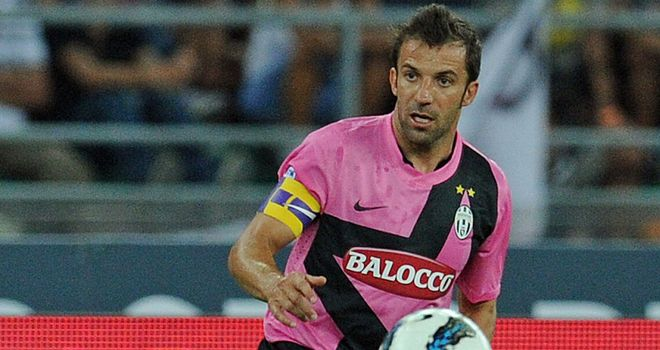 Alessandro Del Piero: Wants to keep playing as long as possible