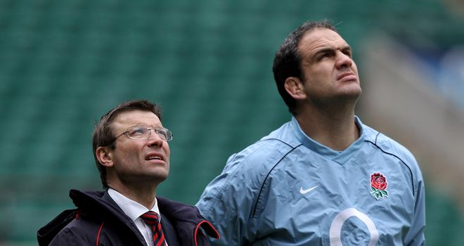 Rob Andrew admits he could have done more to support Martin Johnson