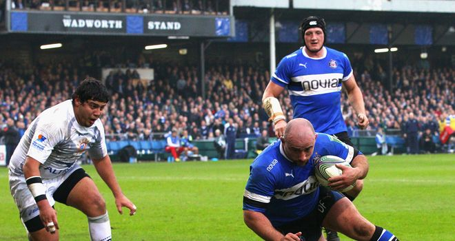 David Flatman: Bath prop was capped eight times by England