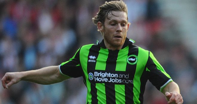 Mackail-Smith: Scored Seagulls' winner