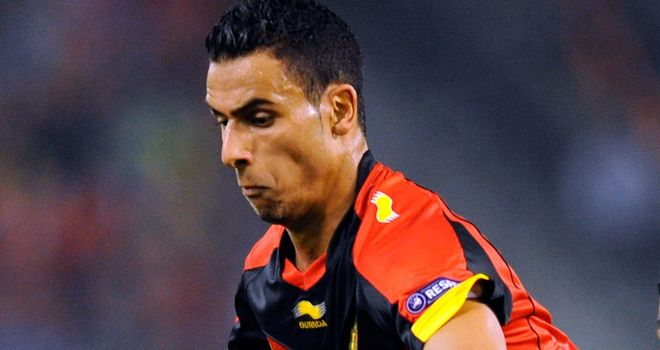 Nacer Chadli: Scored the only goal as FC Twente overcame Steaua Bucharest