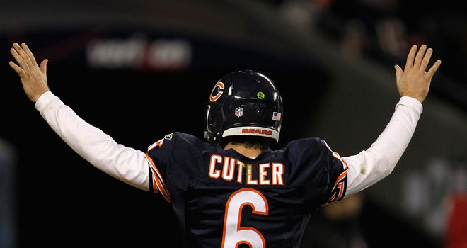 Cutler: the Chicago Bears QB will feature in the Sky Live clash with Green Bay