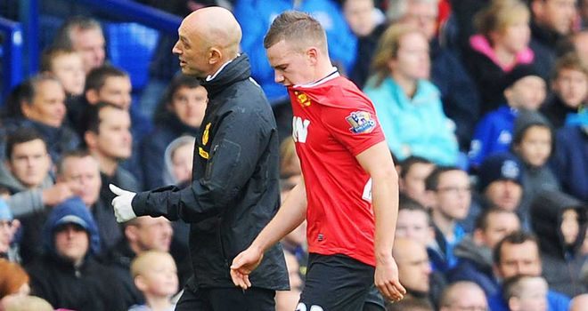 Tom Cleverley: Manchester United midfielder has been ruled out until Christmas due to an ankle injury