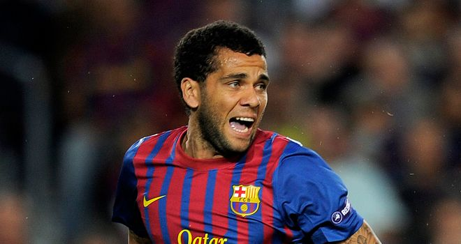 Dani Alves: Targeted by sections of crowd
