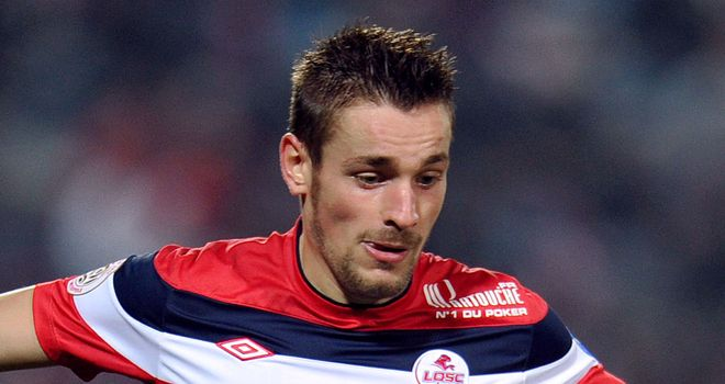 Mathieu Debuchy: Scored the only goal as Lille beat Lorient to continue their pursuit of the leaders
