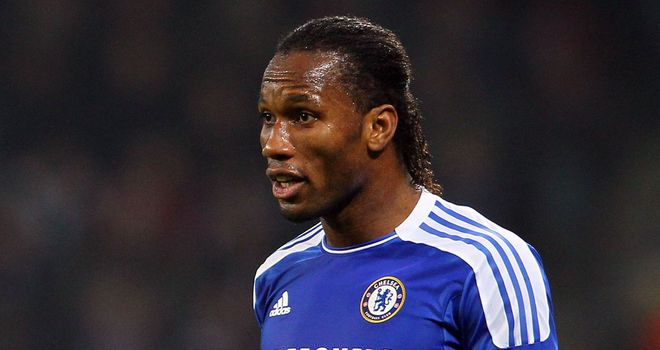 Didier Drogba: Has given his backing to Andre Villas-Boas ahead of crucial clash with Valencia