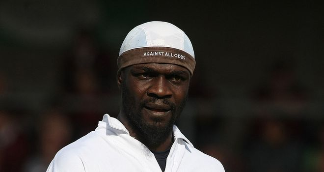 Efe Sodje: Scored before seeing red