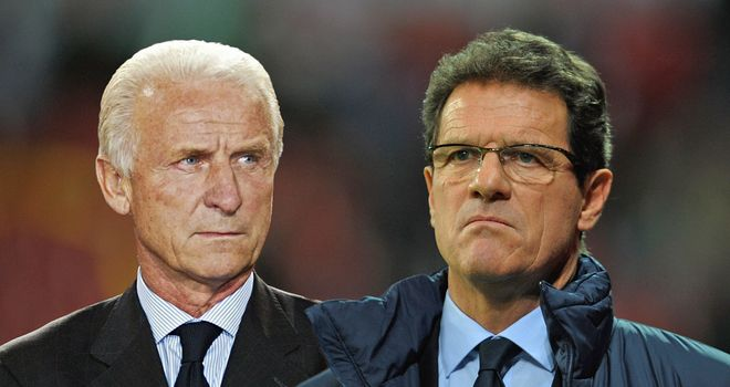 Giovanni Trapattoni: Keen to tackle compatriot Fabio Capello at Euro 2012