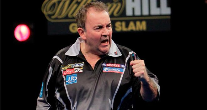 Phil Taylor: Wins both Players Championship events in Wigan