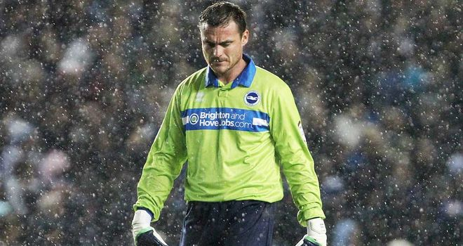 Steve Harper: Joined Brighton on an initial month-long loan deal