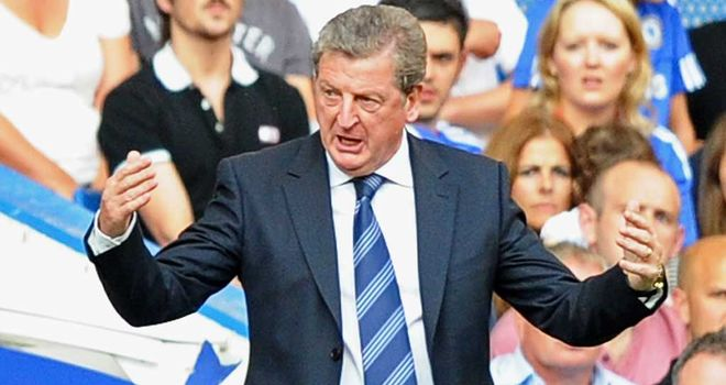 Roy Hodgson: Has welcomed return to fitness of striker