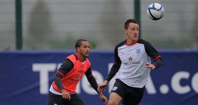 Theo Walcott: Has revealed his respect for John Terry after he helped him settle into the England squad