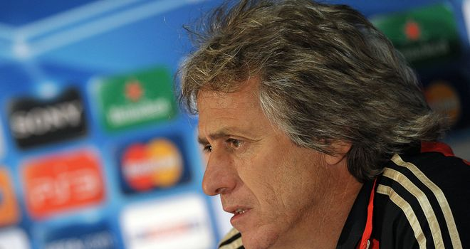 Jorge Jesus: Ready to prove a point against Didier Drogba in Tuesday's Champions League clash