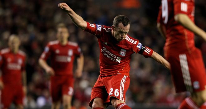 Charlie Adam: Disappointed to see midfield partner Lucas ruled out for the rest of the season
