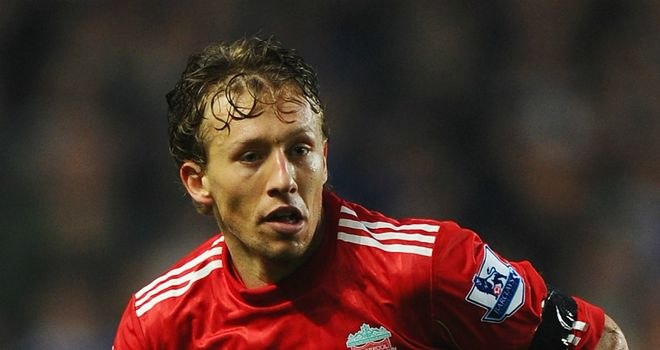 Lucas Leiva: Delighted to be making progress in his recovery from knee surgery