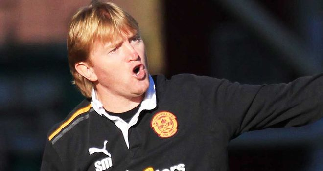 Stuart McCall: Motherwell boss has praised Stephen Hughes' contribution to the club