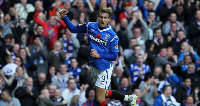 Nikica Jelavic: Rangers striker believes title race is effectively over