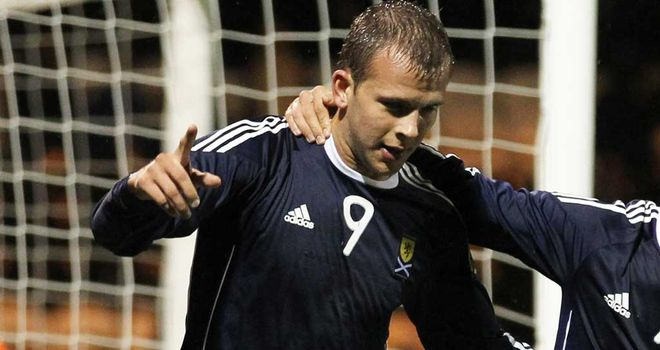 Jordan Rhodes: Starstruck as he makes step up from Under-21s