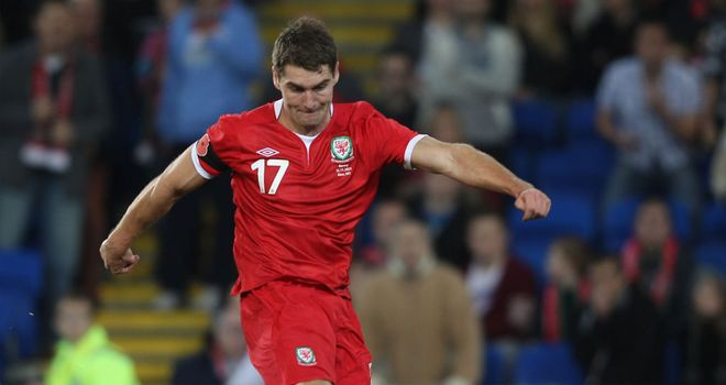 Sam Vokes: Has hailed Wales' progress under Gary Speed and is looking forward to the 2014 World Cup qualifiers