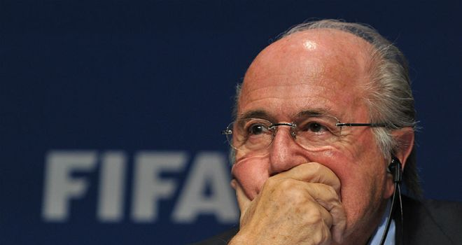 Sepp Blatter: FIFA president has been accused of being out of touch by Tottenham manager Harry Redknapp