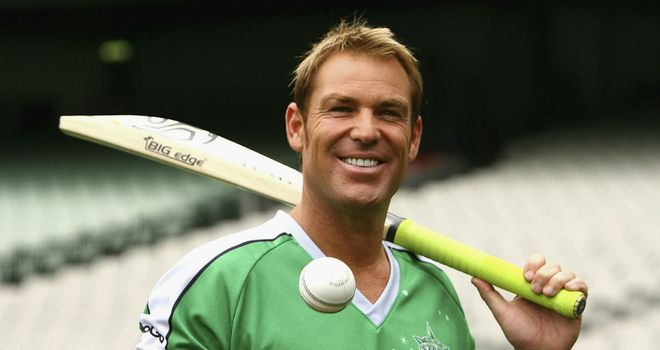 Shane Warne: A doubt for Melbourne's Big Bash opener
