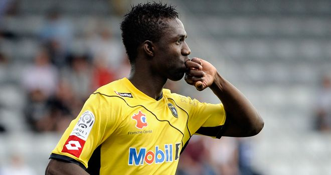 Modibo Maiga: Hopes to be turning out in the Premier League in 2012/13