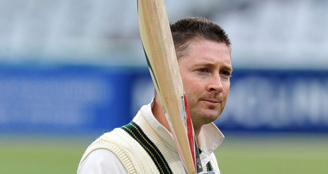 Michael Clarke: Took Australia innings by the scruff of the neck with unbeaten century