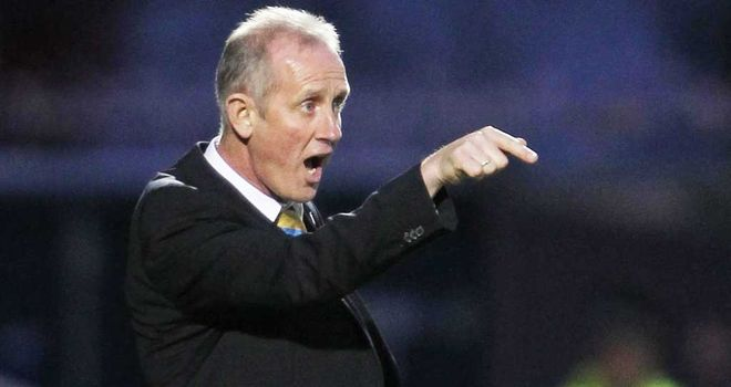 Billy Stark: Insists he is not looking beyond the friendly with Luxembourg