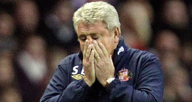 Steve Bruce: Has been axed by Sunderland