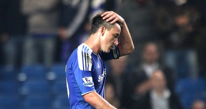 John Terry: Has denied allegations of making racist comments to Anton Ferdinand