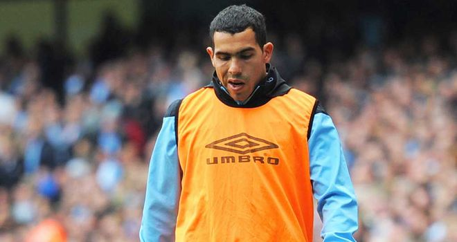 Carlos Tevez: Wanted by both Milan clubs after falling out of favour at City