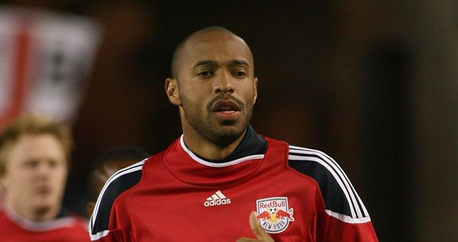 Thierry Henry: Recently trained with Arsenal and could yet return to the club on a short-term loan