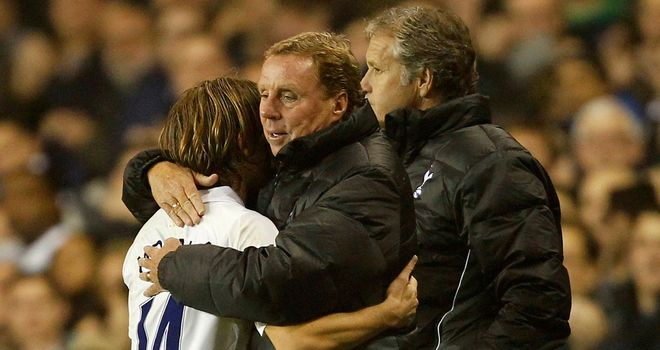 Luka Modric: Harry Redknapp is desperate to keep the midfielder long-term