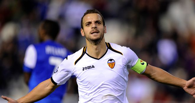 Roberto Soldado: Scored a first-half hat-trick as Valencia demolished Genk