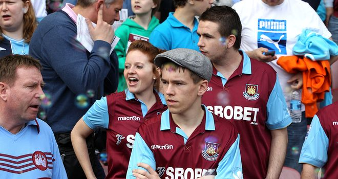 Hammers fans: Upton Park hasn't been a happy home