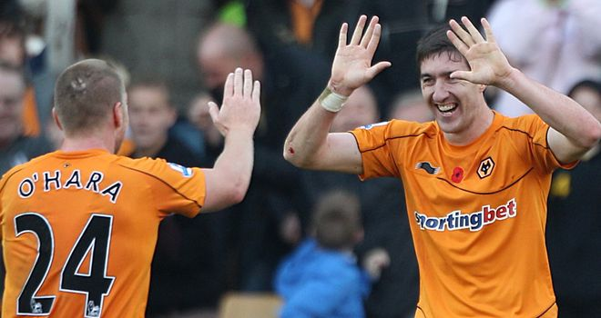 Stephen Ward: insists that McCarthy has the backing of all the Wolves players