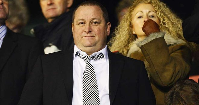 Mike Ashley: Alan Pardew says he has pumped £273m of his personal fortune into Newcastle