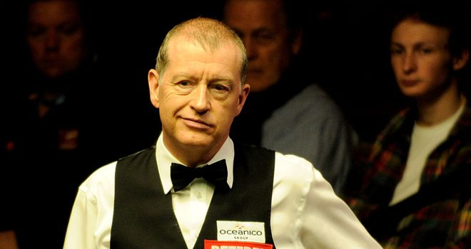 Steve Davis: dropped just one frame in wild-card win over Zhu Yinghui