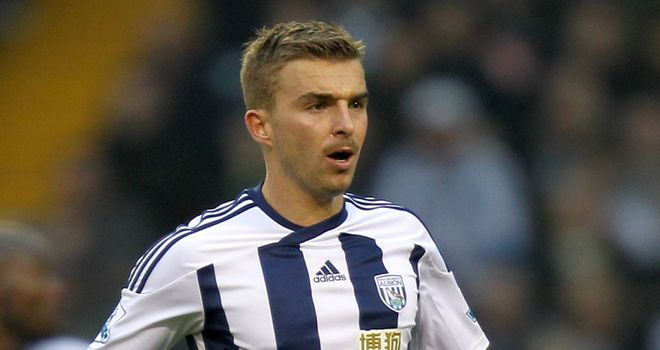 James Morrison: West Brom midfielder pulled his hamstring against Blackburn