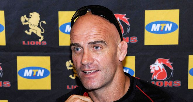 John Mitchell: Guided the Lions to the 2011 Currie Cup